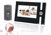 "7"" Handfree COLOR Video Doorphone Bell Intercom Video System"