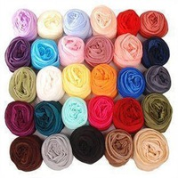 Free Shipping  Cute candy wrinkle scarf  It can match multiple   Nylon    Women scarf   504pcs/carton