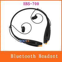 Neck hung convenience HBS-700 Wireless Bluetooth Stereo Headphones headset with mic for  SAMSUNG IPhone LG 5 colour