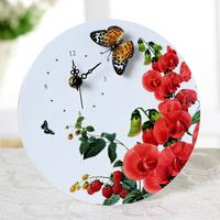free shipping  fashion art clock wedding gifts home decoration silent watch clock