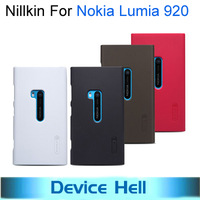 Nillkin Brand frosted hard back cover case for Nokia Lumia 920 cell phone super shied shell+ Screen protector +Free shipping