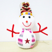 Free shipping 2013 new Christmas snowman x'mas tree ornament with suction cups, Chrsitmas decoration gift actory Outlet