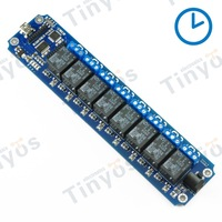 IOS/Android Smartphone control 8 Channel USB/Wireless 5V Timer Relay Module