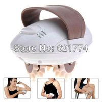 2014 New Health 3D Electric Body Slimmer Massage Roller Loss Weight Slimming Massager Handle Tool Gift