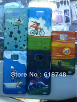 Free Shipping  1pcs Hot sell  JIMI cartoon Plastic protective hard back case for Samsung I9100 Galaxy SII