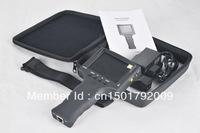 3.5 inch monitior cctv tester with net work ,power supply