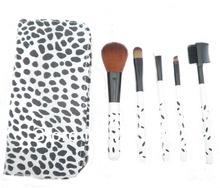 High Quality 5pcs Travel Size Makeup Brush Set 5pcs Travel Size Makeup Cosmetic Brush Set With