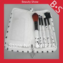 High Quality 5pcs Travel Makeup Brush Set 5pcs Travel Makeup Cosmetic Brush Set
