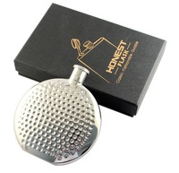 Retail - 1PCS High quality Honest 4oz Hip Flask 304 Stainless steel Hip flasks - 71301
