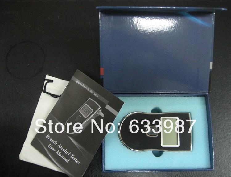 1pc new LCD Digital Breathalyzer Analyzer Breath Alcohol Tester FreeShipping(China (Mainland))