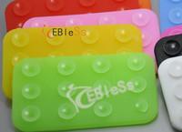 Multi-colored car non-slip pad super suction sticker mat mobile phone mp3 mp4 pad  for  50pcs/lot