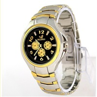 Special offer neutral table imitation students watch quartz watch men and women leather belt watch list