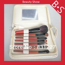 Free Shipping High Quality Makeup Brush Set 7pcs Travel Size 7pcs Makeup Cosmetic Brush Set with