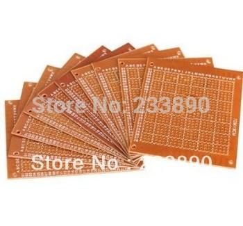5 pcs DIY Prototype Paper 7x9cm PCB Blank Circuit Board Paper Solder Circuit Panel