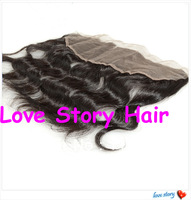 New Arrival 3 part 13*4 inches Body Wave Virgin Malaysian Hair Lace Frontals With Baby Hair Fast Free shipping!!!