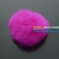 Genuine Rabbit Fur Ball 40mm Free Shipping