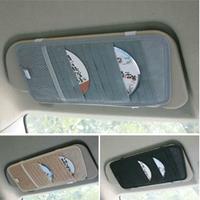Car sun-shading board cd folder car cd bag multifunctional non-woven 12 vehienlar cd storage bag