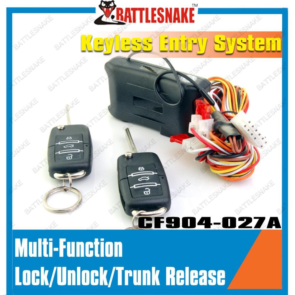 Universal полный функция автомобильный ключ дистанционного центральный замок без ключа безопасность системы
