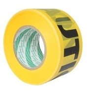 Polar bear yellow glue plastic caution belt warning tape wa-043y