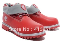 free shipping 2013 new men women mountaineering boots outdoor shoes snow boots the leather warm trend shoes