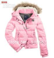 2014 NWT Fashion Brands AE Womens HOODED PUFFER Coat Jacket Down Coats Down jacket