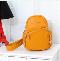 2013 summer popular small messenger bag candy color fresh casual fashion bag chest PU women's handbag shoulder bag