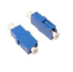 Atacadista grátis frete 50 peças/lote LC-LC de fibra óptica adaptador manga cerâmica monomodo Simplex SC2-SM(China (Mainland))
