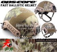 FAST Ballistic Style Helmet (Highlander Camo)