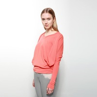 Gustless jnby JNBY solid color loose long-sleeve pullover sweater female 5b18142