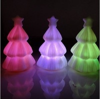 Christmas Decoration Supplies  Festive & Party Supplies  tree chramatic lamp 5psc wholesale  free  shipment