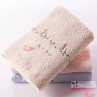 100% cotton towel 100% cotton washcloth waste-absorbing soft lovers design towel hot-selling