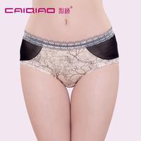 Trigonometric women's modal panty mid waist panties sexy fashion shorts unique patchwork
