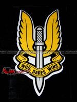 Car stickers - car sticker badge pongid swat sas badge ms