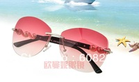 Free shipping Fashion female models big box sunglasses sunglasses trend