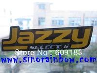 Die cut PVC logo sticker custom