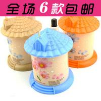 2pcs/lot  Automatic toothpick box fashion small portable house toothpick tube