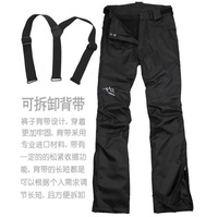 free shipping Women outdoor outside sport trousers casual pants detachable liner winter waterproof thermal