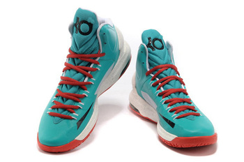 freeshipping 6 color brand name 2013 mens kd 5 basketball shoes,cheap men mvp kevin durant v christmas sneakers for men blue red