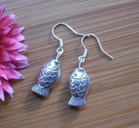 National accessories 2013 handmade silver earrings new arrival big 027