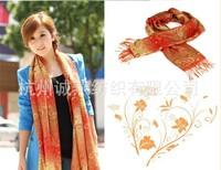 Bohemia national trend big jacquard cape cashew nuts color shawl scarf