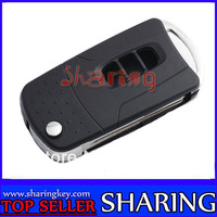 Flip Folding Remote Key Shell Case For Chevrolet Captiva 3 Buttons