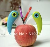 2013, fashionable ceramic knife, lovely fruit knife, folding knives, sharp,Hong Kong's free shipping