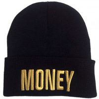Free shipping! 2014 NEW STYLE.GOLD MONEY  Beanie - GOLD,Unisex MAN AND WOMEN Hip-Hop Knitting Wool Beanie
