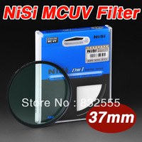 High Quality Nisi 37mm MCUV lens Filter Multi Coated Ultraviolet ultrathin for Nikon Canon  CX180E GX1X EP3 GF5X pentax camera