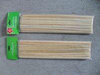 Flat bamboo bbq  stick