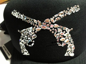 It mastermind japan mmj gravel sparkling diamond woman hat