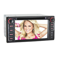 WIFI/3G Toyota 2 DIN Car DVD Player Built-in GPS Navigation,FM/AM,Ipod,AUX,Steering Wheel Control,HD 1080P Playing
