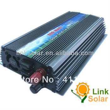 2013 new 800W 10.8-28VDC TO 120/230VAC DIY grid tie solar panel micro inverter