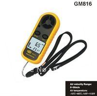 Digital Air velocity Air temperature Anemometer GM816