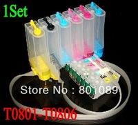 eposn T0801 T0802 T0803 T0804 T0805 T0806 ciss ink system for Epson Stylus Photo P50 R265 R285 R360 RX585 RX685 RX560